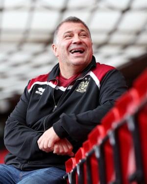 Shaun Wane has been Wigan coach since 2011.