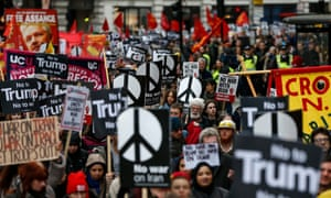 A march in London earlier this month co-organised by CND