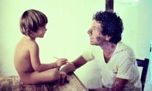 Adam and Leonard Cohen