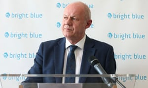 Damian Green speaks at a conference organised by Bright Blue, of which Kate Maltby is a board member, earlier this year.