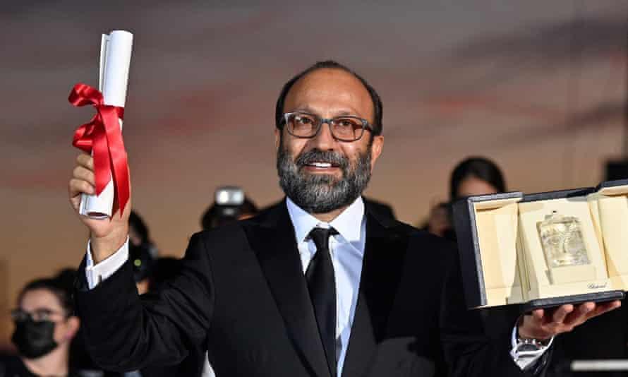Asghar Farhadi in Cannes.