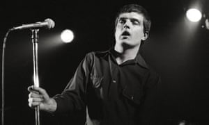 Ian Curtis - perhaps not the most obvious choice for a lairy football anthem.