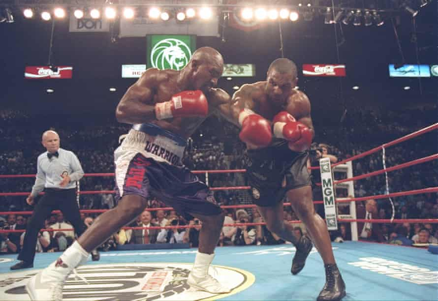 Tyson and Holyfield