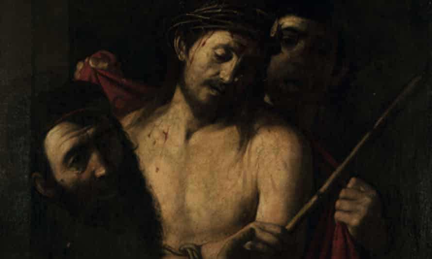 Detail of the 17th-century oil on canvas Crowning of Thorns, attributed to the circle of José de Ribera, which was pulled from sale.