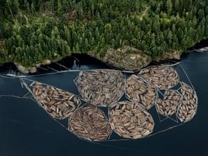 Log Booms #1, Vancouver Island, British Columbia, Canada, 2016