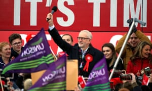 General Election 2019<br>Labour Party leader Jeremy Corbyn speaks at a rally in Stainton Village in Middlesbrough, on the last day of General Election campaigning. PA Photo. Picture date: Wednesday December 11, 2019. Photo credit should read: Owen Humphreys/PA Wire