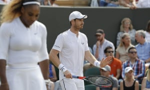 Andy Murray's Wimbledon return is over this year after he and Serena Williams were unable to find a way past the top seeds.