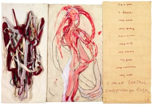 Louise Bourgeois's I Go to Pieces: My Inner Life (#6), 2010
