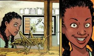 Okorafor's Marvel comic featuring the superhero, Ngozi.