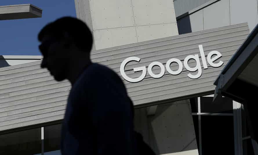 Google's Mountain View HQ in California.