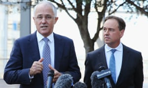 Malcolm Turnbull and Greg Hunt