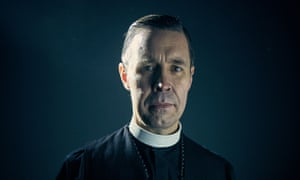 Father John Hughes played by Paddy Considine – a man who can raise the hairs on your neck with one slow smile.
