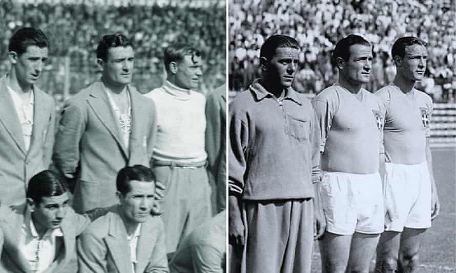 Luis Monti plays in the 1930 final for Argentina – and in the 1934 final for Italy.