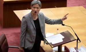 Senate Labor leader Penny Wong.