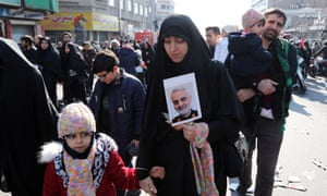 Funeral ceremony for Qassem Suleimani in Tehran