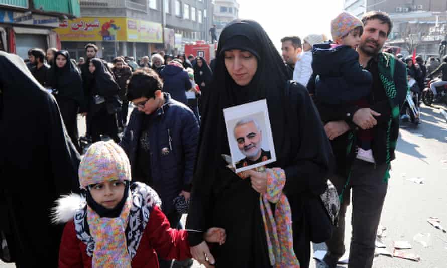 Funeral ceremony for Qassem Suleimani in Tehran