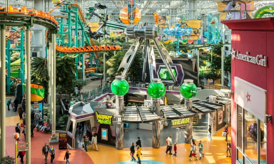 The Mall of America in Minnesota