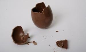 Duchy of Cornwall milk chocolate easter egg