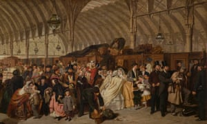 The Railway Station, 1863, by William Powell Frith.