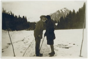 Photographer unknown, Josef and Anni Albers, Oberstdorf, Germany, 1927-8 Courtesy the Josef and Anni Albers Foundation.