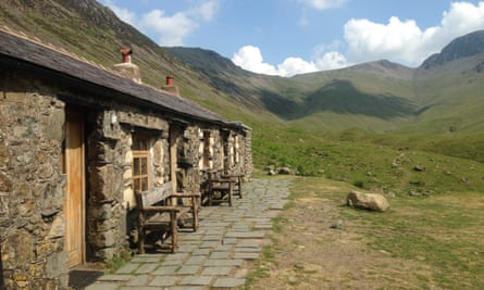 Distant haven: the Black Sail hostel, one of the most isolated in Britain. Payment is by honesty box.