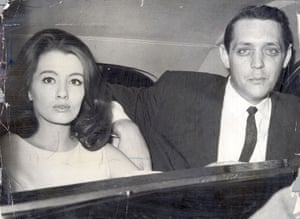 21 Year Old Christine Keeler Pictured With Robin Drury On The Day Aloysius 'lucky' Gordon Was Sentenced To Three Years Imprisonment For Assaulting Her.
