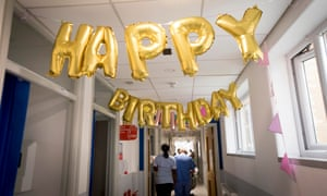 Brunel ward at King's College Hospital in south London marked the NHS's 70th birthday in July.