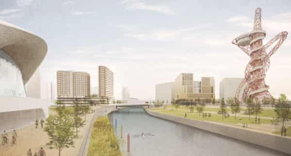 UCL's plans for a second campus atthe Olympic Park in Stratford