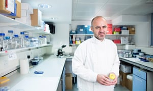 Paolo de Coppi, a surgeon at Great Ormond Street, is working on creating an oesophagus for babies.