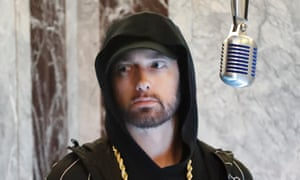 'What do you find to get mad about when you're a sober 47-year-old with a net worth of $230m?' ... Eminem.