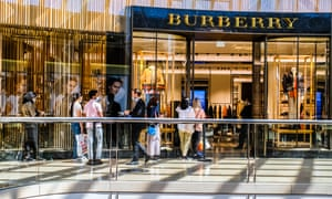 The Burberry store in Chadstone Shopping Centre during the Boxing Day shopping in Melbourne, Australia.