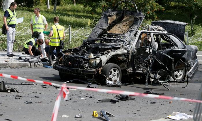 Ukrainian military intelligence officer killed by car bomb