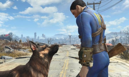 A world of tribal barbarity … Fallout 4.