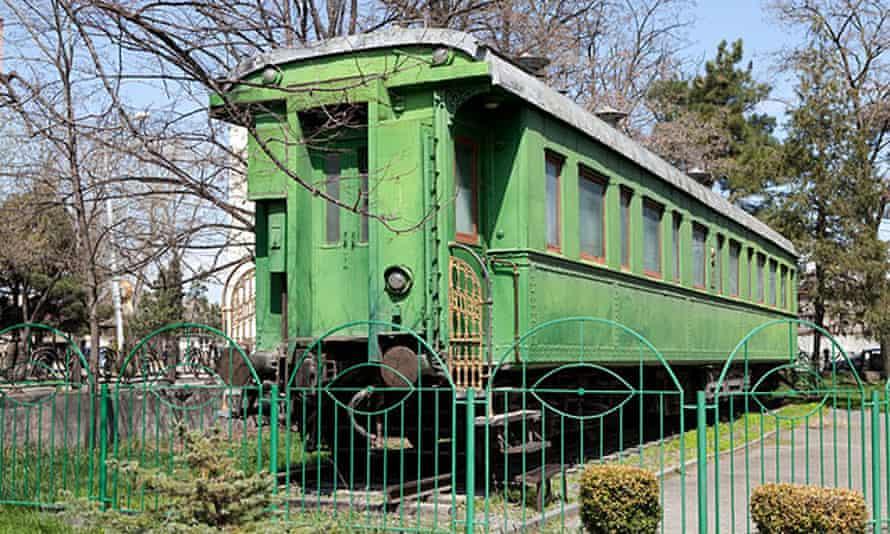 Stalin's personal carriage, at the Stalin Museum, Gori, Georgia
