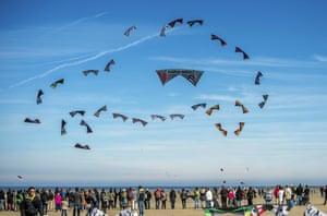 A Charlie Hebdo kite
