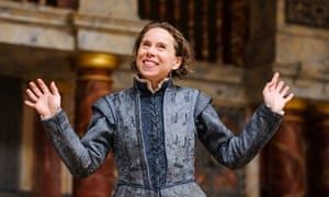 Michelle Terry as Rosalind in the Globe's 2015 production of As You Like It.