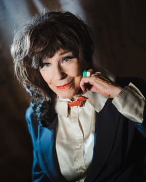 Fenella Fielding photographed in October 2017