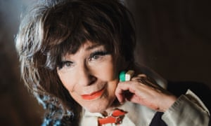 Fenella Fielding in 2017; she carried on working past her 90th birthday.