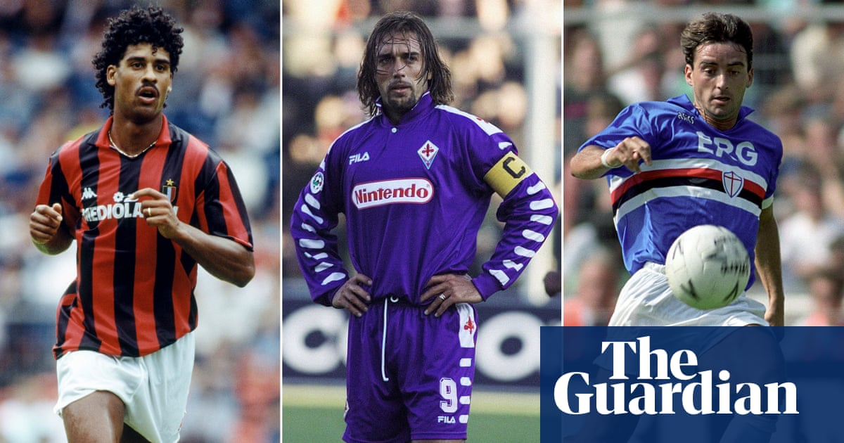 new styles da1c9 d48e7 The best kits in the last 50 years of Serie A | Football ...