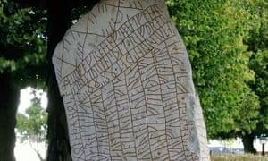 The Rök stone in Sweden bears the longest runic inscription in the world