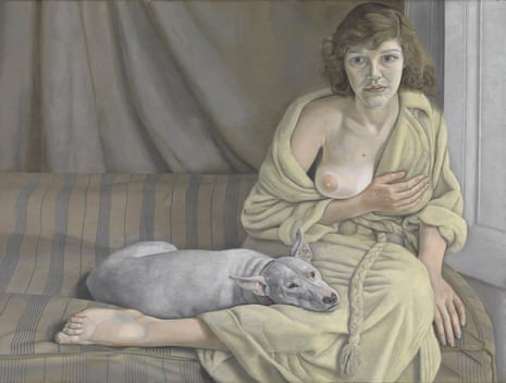 Lucian Freud's Girl with a White Dog 1950-1