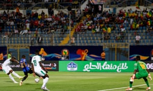 Senegal's Keita Balde scores their first goal