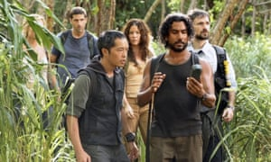 A scene from Lost.