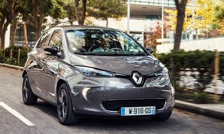 Renault's Zoe electric car