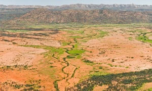 The Hugh River in Northern Territory