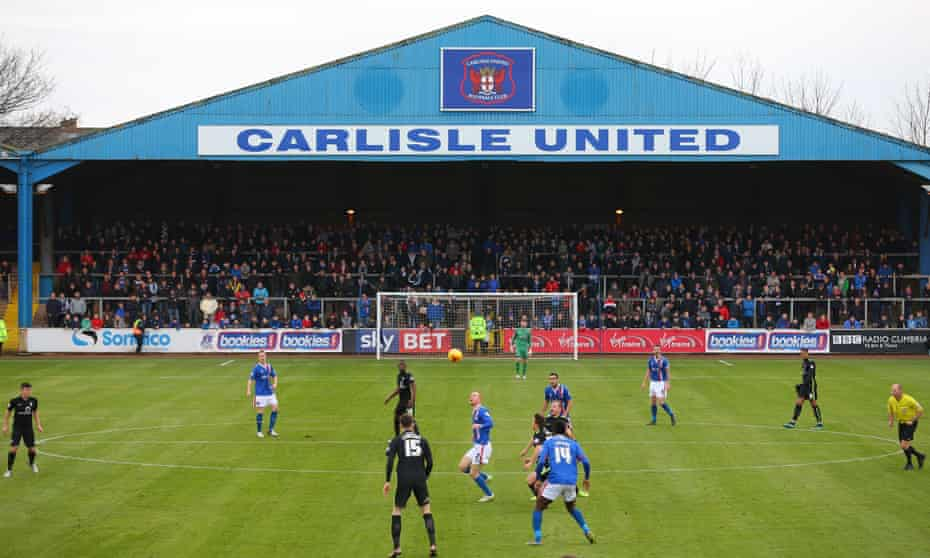Carlisle United taking on York City on their re-turfed pitch on Saturday 23 January.