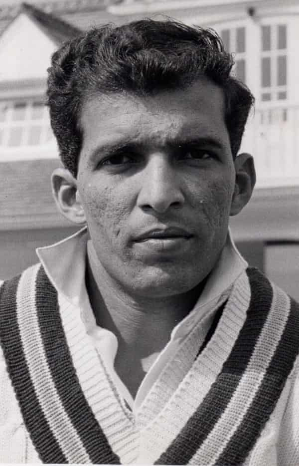 Rusi Surti during India's tour of England in 1967.