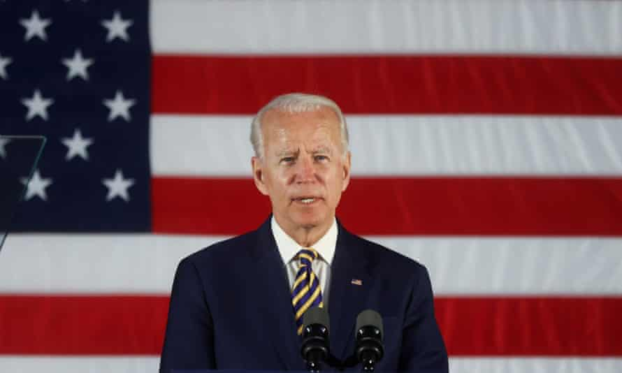 Joe Biden will be ready to begin work on the country's daunting problems 'the day he is sworn in as president', according to his transition chief, Ted Kaufman.