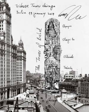 Francis Kéré Architect's sketch for the 2017 contest.