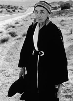 Georgia O'Keeffe in New Mexico, April 1960